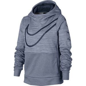 Nike Girls Blue Pullover Hoodie with Pockets NWT